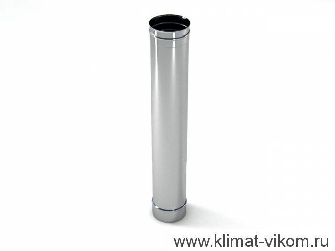 Труба ф 100,  0,25м, AISI 439/1,0мм