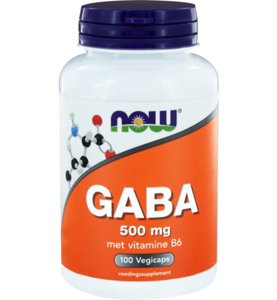 Now GABA 500 мг 100 кап._