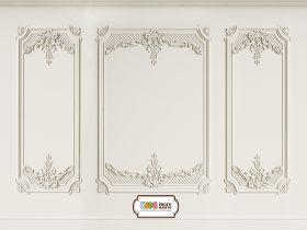 """Фон стена """"Moldings №1"""" 2x1.5 m"""