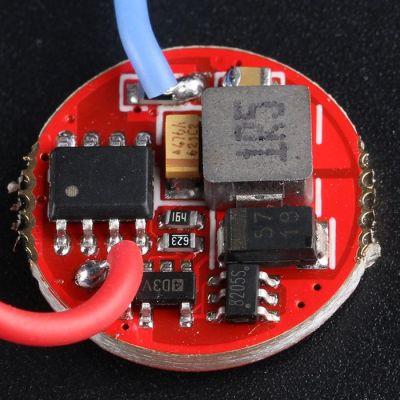 Драйвер T2, 1.5В, 800мА, 17mm, 3 уровня яркости и стробоскоп