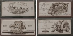 Декор Fabresa Hueso Wine Labels Mix 10×20