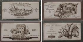 Декор Fabresa Hueso Wine Labels Mix 10×20