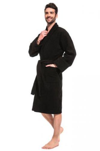 Мужской махровый халат Black Label