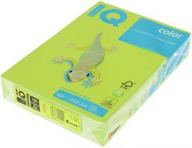 "Бумага цветная ""IQ Color"", А4, 160 г/м2, зеленая липа, 500 листов (арт. LG46)"