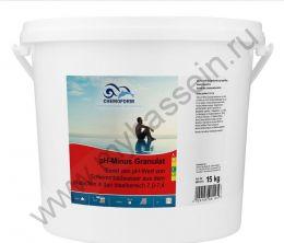 pH минус  гранулированный, 15 кг