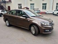 Аренда Volkswagen Polo 2017г. Коричневый в Москве