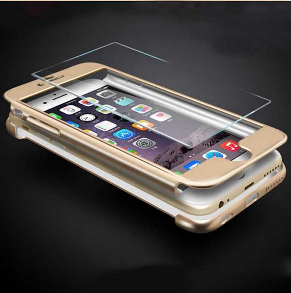 Чехол Paky 360 градусов защиты со стеклом на экран для iPhone 7 Plus, 8 Plus Черный