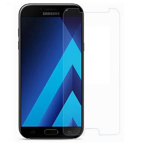 Защитное стекло полное (2.5D) для Samsung Galaxy A7 2018 (A750F) Черный