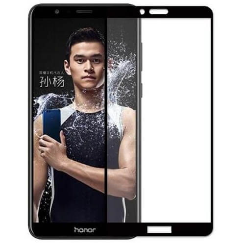 Защитное стекло полное (2.5D) для Huawei Honor 9 Lite Черный