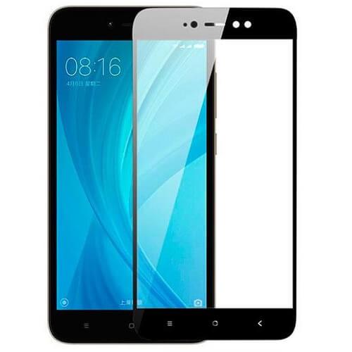 Защитное стекло полное (2.5D) для Xiaomi Redmi Note 5A Prime Черный