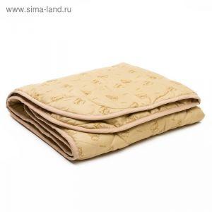 Одеяло АДЕЛЬ Стандарт шерсть Степ 110*140 , пэ100% (300г/м2)   3409676