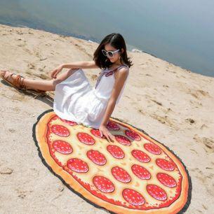Пляжное шифоновое парео-покрывало,Пицца 1.5 м