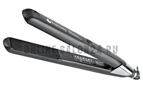 Щипцы-выпрямитель Hairway Black Nano Diamonds Ceramic 170W