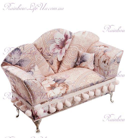 """Шкатулка для украшений """"Цветочный диван"""""""
