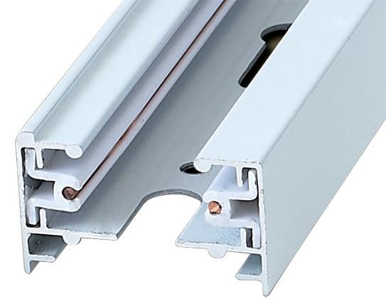 Шинопровод осветительный 1-фазный L=3м Volpe белый UBX-Q121 KS2 WHITE 300 POLYBAG