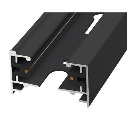 Шинопровод осветительный 1-фазный L=3м Volpe черный UBX-Q121 KS2 BLACK 300 POLYBAG