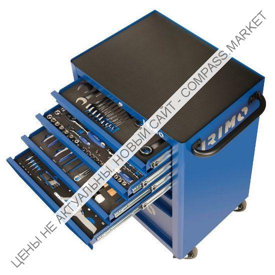Тележка с инструментом 206 предметов, 6 ящиков IRIMO