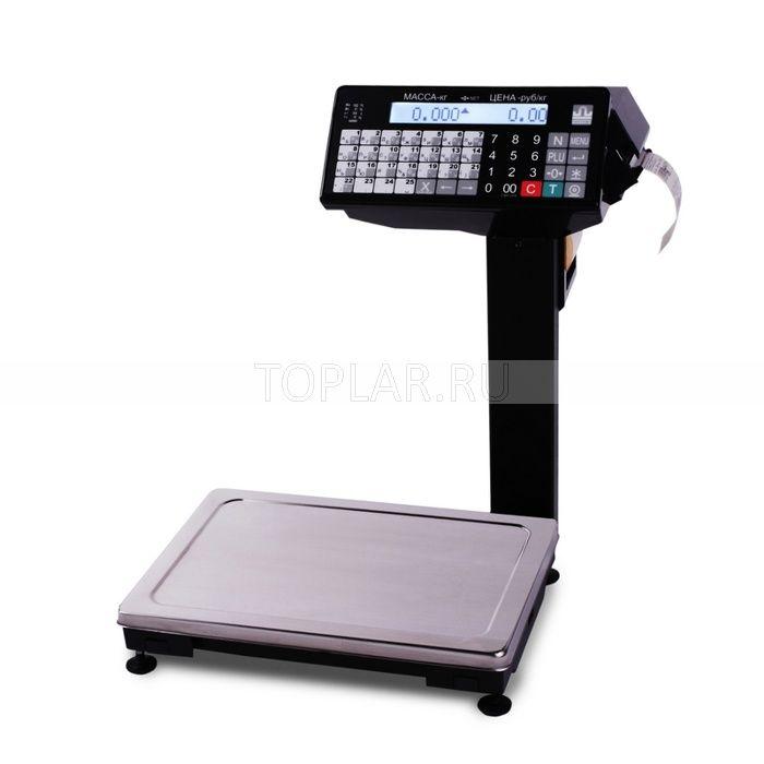 Весы с печатью этикеток МАССА ВПМ_Ф