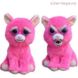 Игрушка Feisty Pets розовый кот