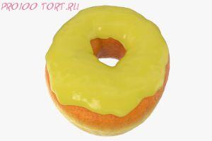 Помадка сахарная Жёлтая 100 гр.