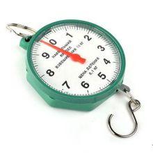Безмен круглый, 10 кг, Цвет: Зеленый