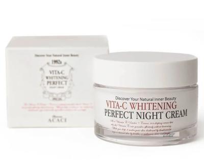 Chamos Acaci Восстанавливающий ночной крем для лица с витамином C 50 мл