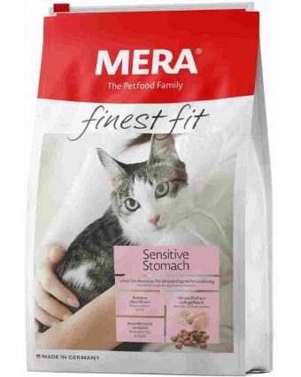 Сухой корм Mera Finest Fit Sensitive Stomach для кошек с чувствительным пищеварением