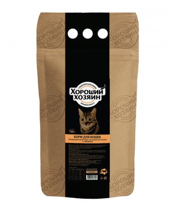 Сухой корм «Хороший Хозяин» для кошек с говядиной