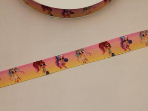 `Лента репсовая с рисунком, ширина 25 мм, Р-ЛР5748-23