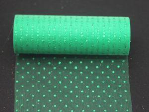 Фатин с люрексом, средняя жесткость, ширина 15 см, бобина 10 ярдов, цвет: Q22