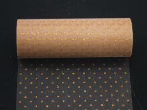 `Фатин с люрексом, средняя жесткость, ширина 15 см, цвет: Q19
