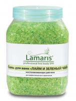 Солья для ванн Лайм и Зеленый чай, 1330 гр.