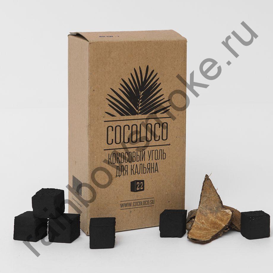 Уголь кокосовый для кальяна Cocoloco 22мм (96шт)