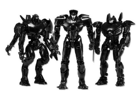 Тихоокеанский рубеж набор фигурок Роботы
