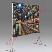 """Мобильный проекционный экран Draper Cinefold NTSC (3:4) 229/90"""" 127*178 XT1000V"""