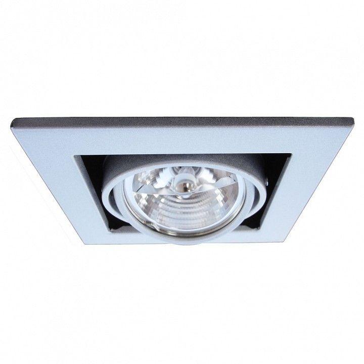 Встраиваемый светильник Arte Lamp Technika 2 A5930PL-1SI
