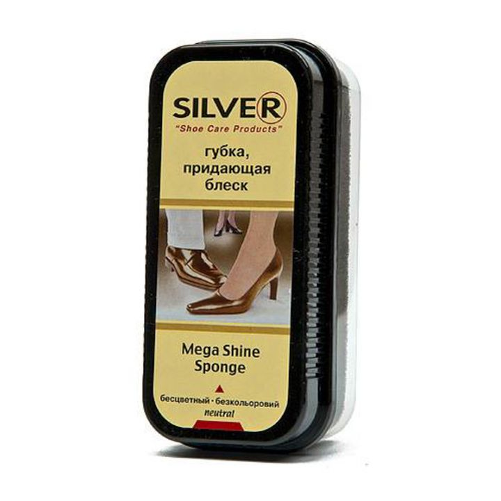 Губка Silver придающая блеск neutral натуральная