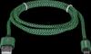 USB кабель USB08-03T PRO USB2.0 Зеленый, AM-MicroBM, 1m, 2.1A
