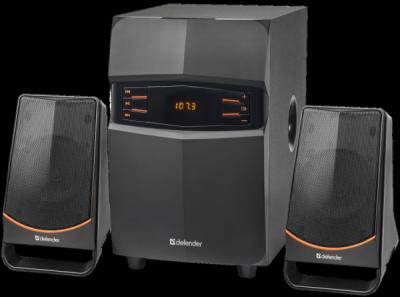 Акустическая 2.1 система X181 18Вт, BT/FM/MP3/SD/USB/LED/RC