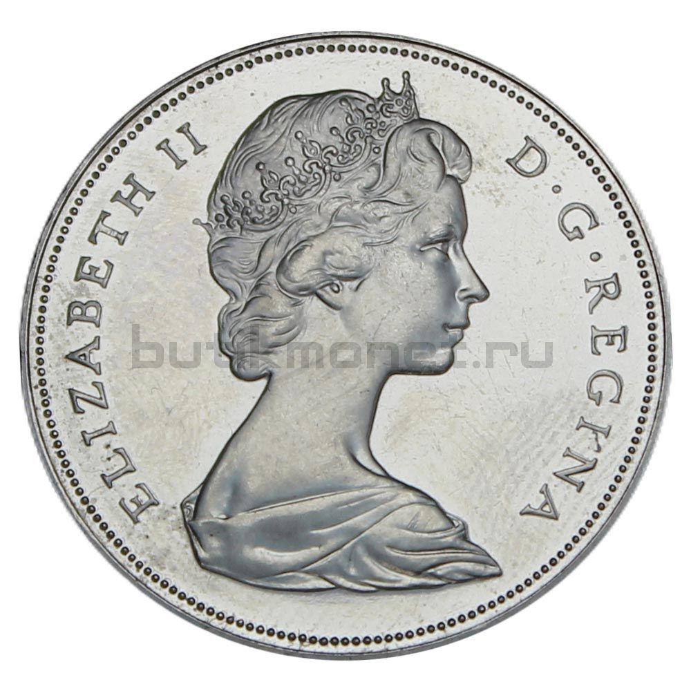 1 доллар 1970 Канада 100 лет со дня присоединения Манитобы