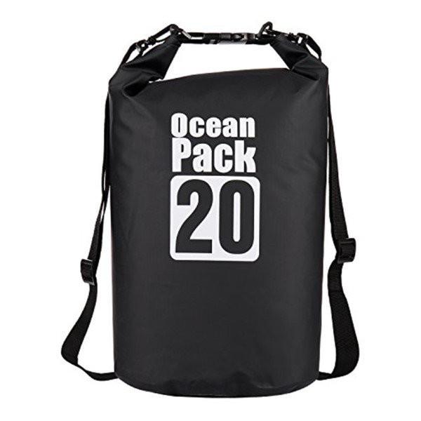 Водонепроницаемая сумка-мешок Ocean Pack, 20 L, цвет черный