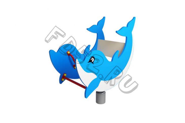 Качалка Дельфинчик                                           870х580х870