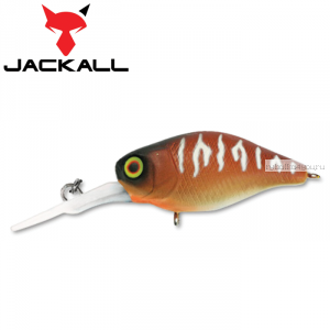 Воблер Jackall Diving Chubby 38F 38 мм / 4,3 гр / Заглубление: 1 - 1,5 м / цвет: bug tiger