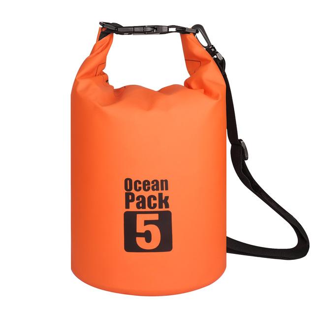 Водонепроницаемая Сумка-Мешок Ocean Pack, 5 L, Цвет Оранжевый