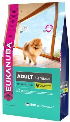 EUK Dog корм для взрослых собак миниатюрных пород