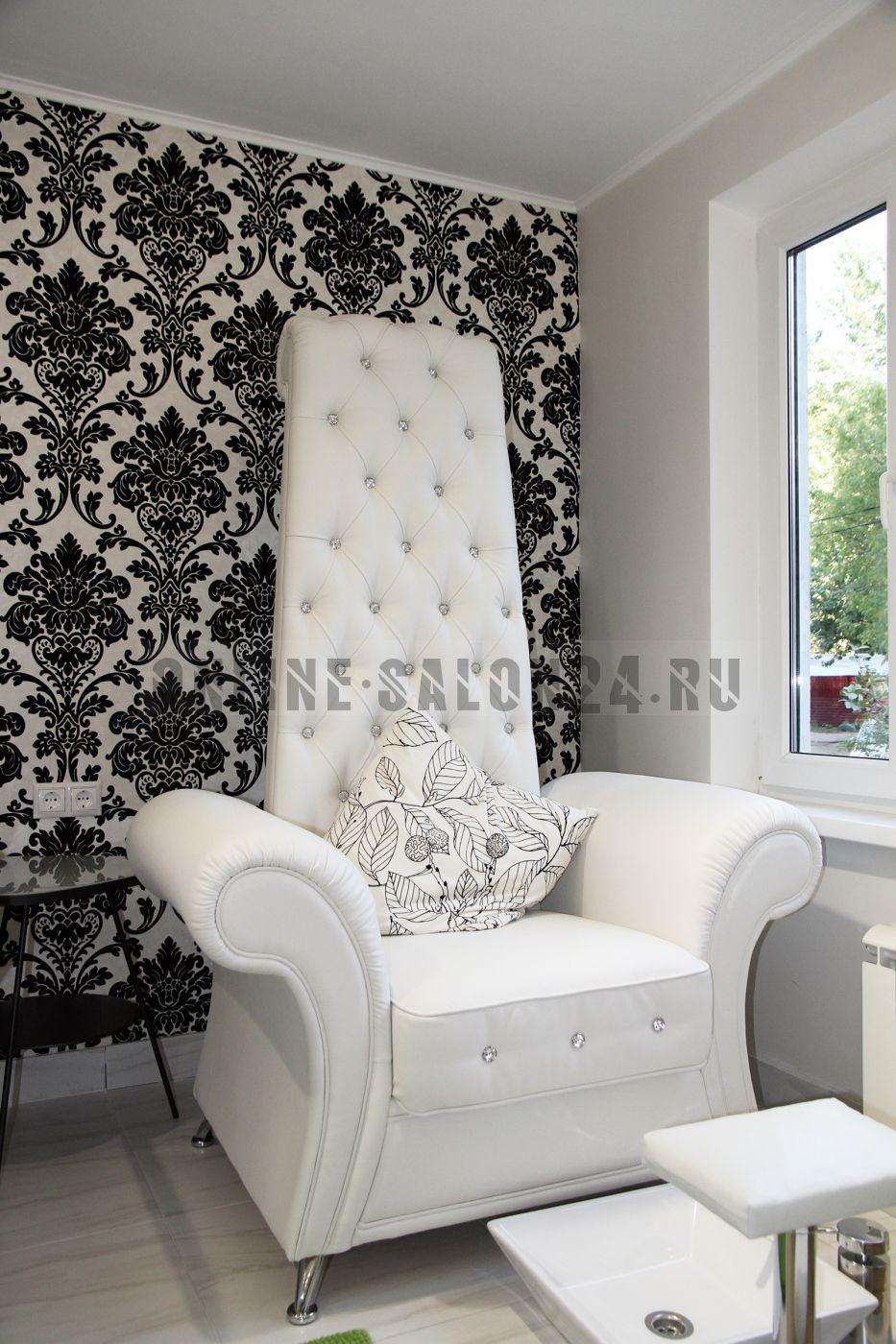 Педикюрное кресло-трон Сицилия без подушки