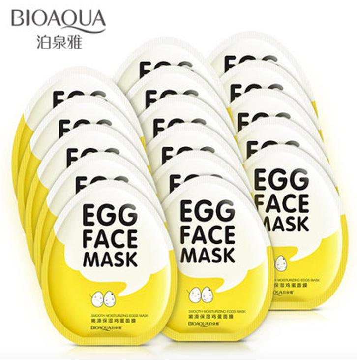 BioAqua Egg Face Mask - Яичная маска для лица.