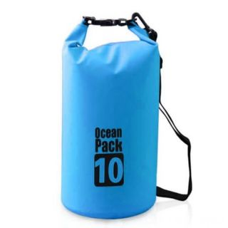 Водонепроницаемая сумка-мешок Ocean Pack, 10 L, Цвет: Голубой