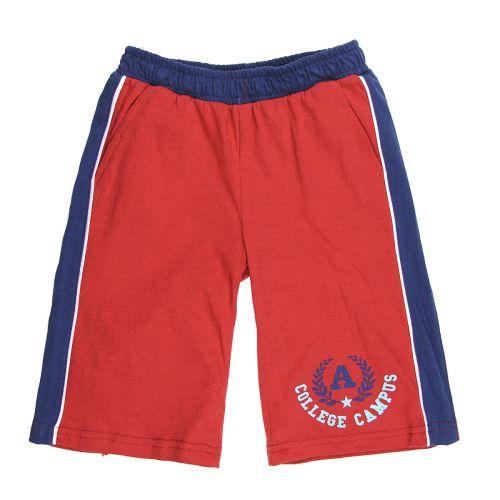 Бриджи для мальчика 5-8 лет Happy Kids HK323 красные