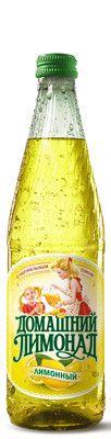 Газ. вода Домашний Лимонад Лимон 0,5л ст/б Бочкари